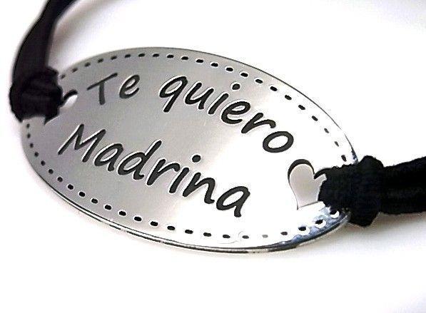 10853-Pulsera-goma-Te-quiero-madrina Pulsera goma Te quiero madrina