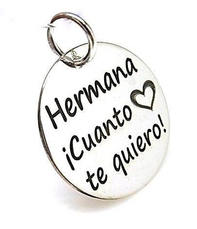 13444-Colgante-Hermana-¡-Cuanto-te-quiero Colgante Hermana ¡ Cuanto te quiero !