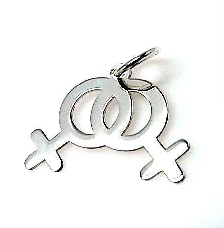 10952-Colgante-simbolo-mujer-mujer Colgante simbolo mujer-mujer
