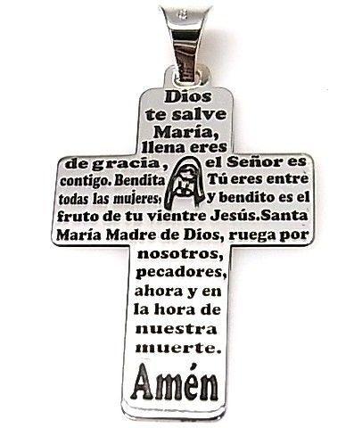 11183-Colgante-cruz-Ave-Maria Colgante cruz Ave Maria
