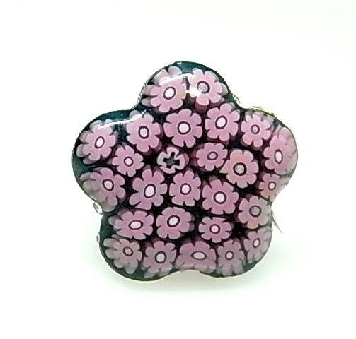 11924-Sortija-flor-murano Anillo flor murano