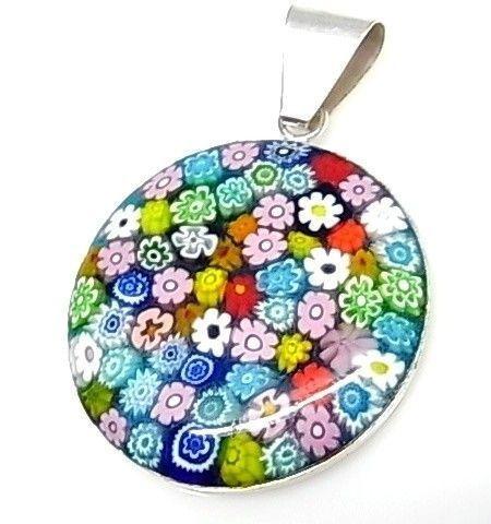 12068-Colgante-cristal-de-murano-color Colgante cristal de murano color