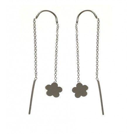 27952.2 Pendiente doble cadena flor