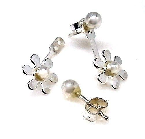 13274-Pendiente-flor-perla Pendiente flor perla