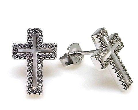 13963-Pendiente-cruz-nacar Pendiente cruz nacar
