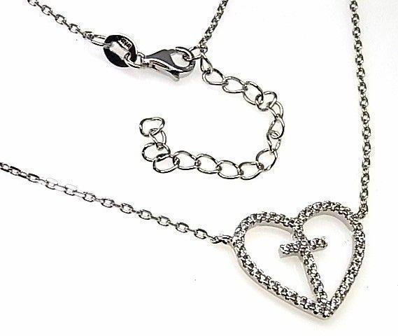14716-Gargantilla-corazon-cruz-circonitas Gargantilla corazón cruz circonitas