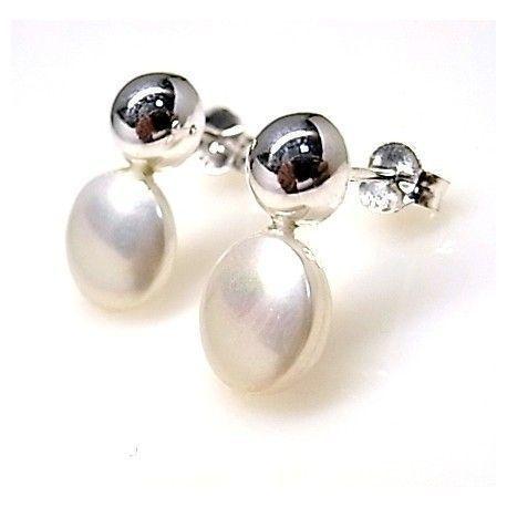 15976-Pendiente-perla Pendiente perla