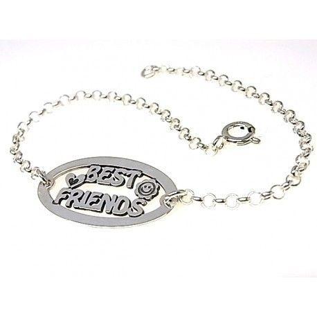 "16036-Pulsera-best-friends Pulsera "" best friends """