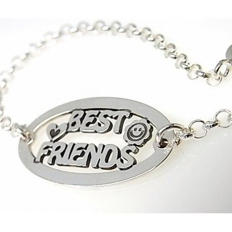 "16037-Pulsera-best-friends Pulsera "" best friends """