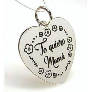 """16061-Colgante-corazon-Te-quiero-mama-300x300 Colgante corazón """" Te quiero mamá """""""