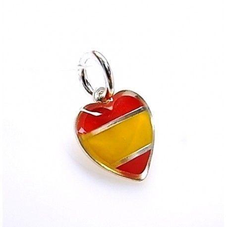 16111-Colgante-corazon-Espana Colgante corazón España