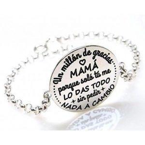 """16137-Pulsera-Un-millon-de-gracias-mama-300x300 Pulsera """" Un millón de gracias mamá """""""