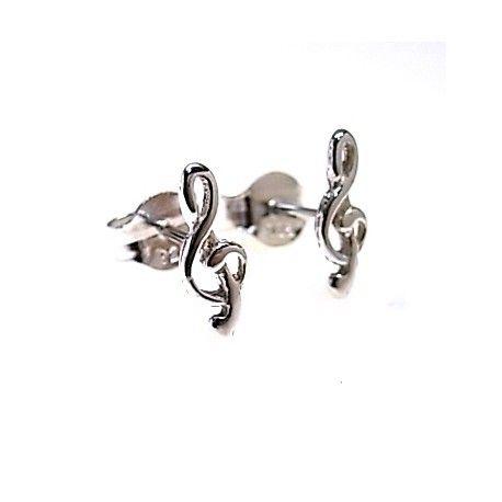 16150-Pendiente-clave-de-sol-pequeno Pendiente clave de sol pequeño