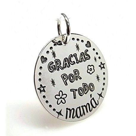 "16153-Colgante-Gracias-por-todo-mama Colgante "" Gracias por todo mamá """