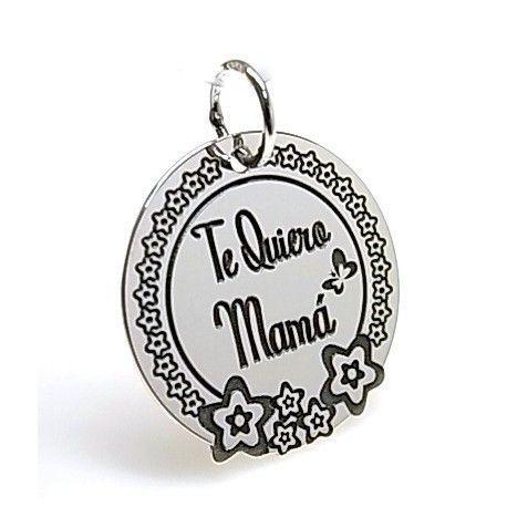 "16155-Colgante-Te-quiero-mama Colgante "" Te quiero mamá """