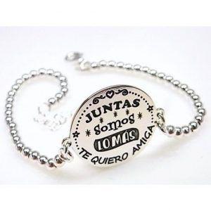 """16185-Pulsera-bolas-Juntas-somos-lo-mas-300x300 Pulsera bolas """" Juntas somos lo más """""""