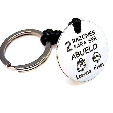 16201-Llavero-abuelo-personalizado Llavero abuelo personalizado