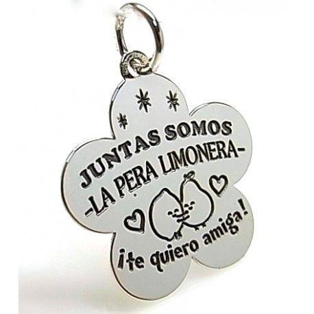 """16270-Colgante-Juntas-somos-la-pera-limonera Colgante """" Juntas somos la pera limonera """""""