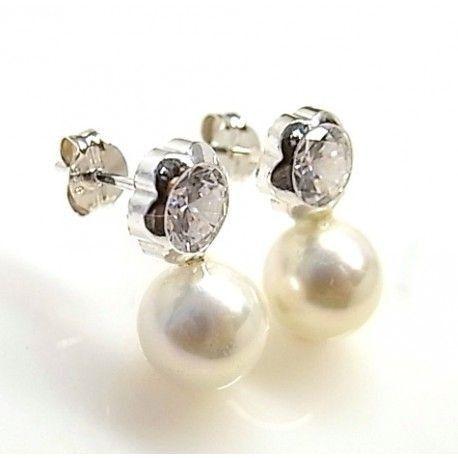 16278-Pendiente-tu-y-yo-chatones-perla Pendiente tu y yo chatones perla