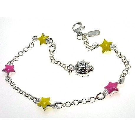 16394-Pulsera-infantil-estrellas Pulsera infantil estrellas
