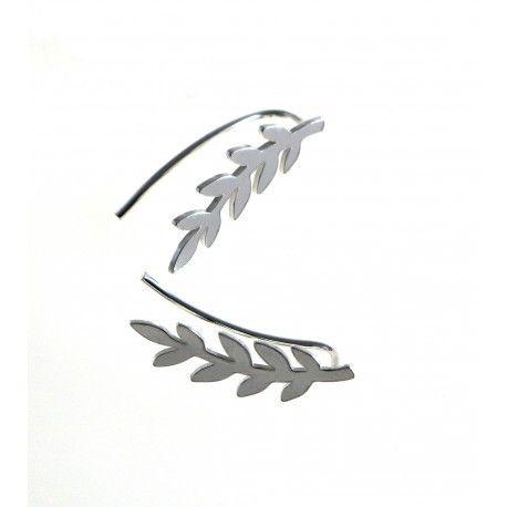 16451-Pendiente-trepador-hojas Pendiente trepador hojas