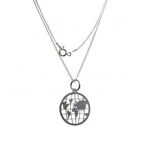 16540-Gargantilla-mapa-del-mundo Gargantilla mapa del mundo
