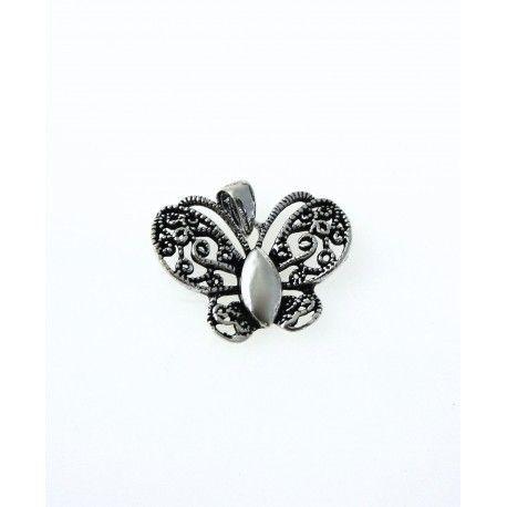 16600-Colgante-mariposa-oxidada Colgante mariposa oxidada