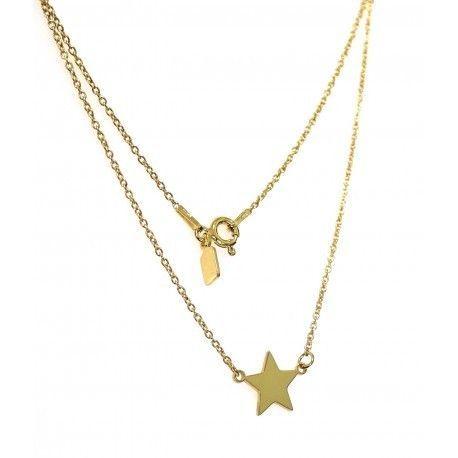 16837-Gargantilla-estrella-chapada Gargantilla estrella chapada