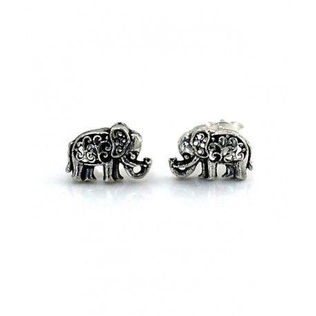 16861-Pendiente-elefante Pendiente elefante