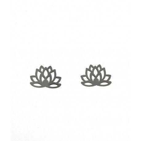 16987-Pendiente-flor-de-loto Pendiente flor de loto
