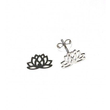 16988-Pendiente-flor-de-loto Pendiente flor de loto
