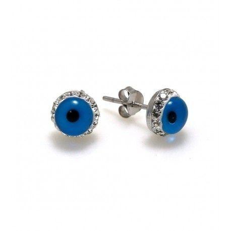 17101-Pendiente-ojo-turco Pendiente ojo turco