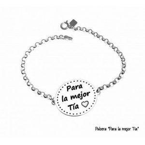 """17168-Pulsera-Para-la-mejor-tia-300x300 Pulsera """"Para la mejor tia """""""