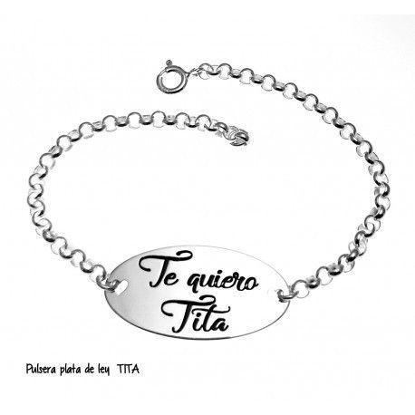 "17172-Pulsera-TE-quiero-tita Pulsera ""TE quiero tita """