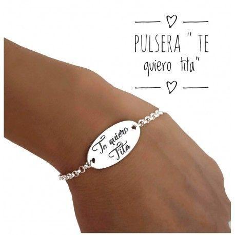 "17173-Pulsera-TE-quiero-tita Pulsera ""TE quiero tita """