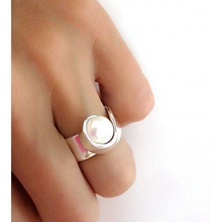 17226-Sortija-perla Anillo perla