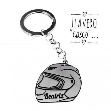 17242-Llavero-casco-personalizado Llavero casco personalizado