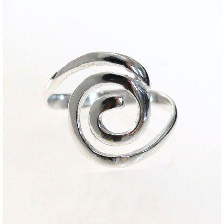 17296-Sortija-espiral-lisa Anillo espiral lisa