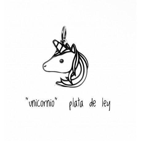 17320-Colgante-unicornio Colgante unicornio