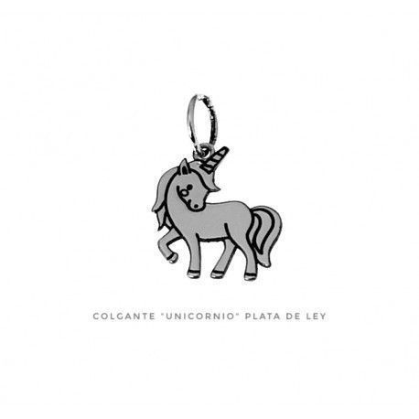 17359-Colgante-unicornio Colgante unicornio