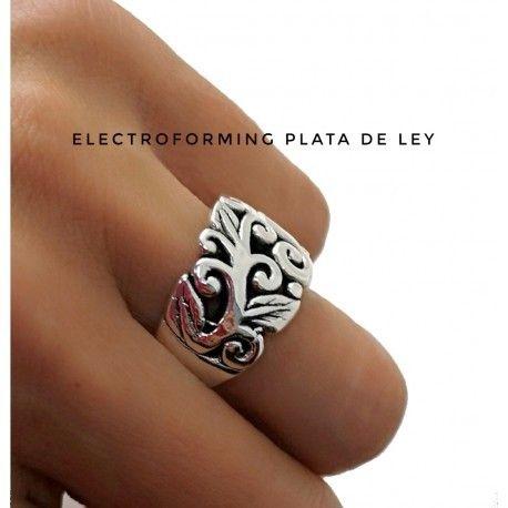 17396-Sortija-electroforming Anillo electroforming