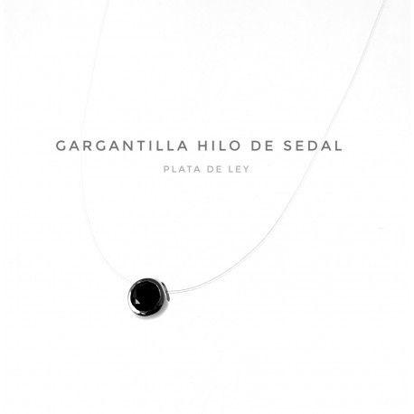 17410-Gargantilla-hilo-sedal-circonita-negra Gargantilla hilo sedal circonita negra