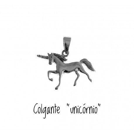 17504-Colgante-unicornio Colgante unicórnio