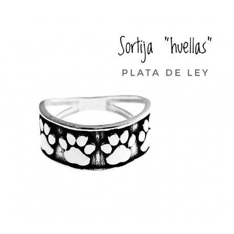 17523-Sortija-huellas Anillo huellas