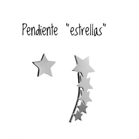 17632-Pendiente-estrellas-en-presion-y-trepador Pendiente estrellas en presión y trepador