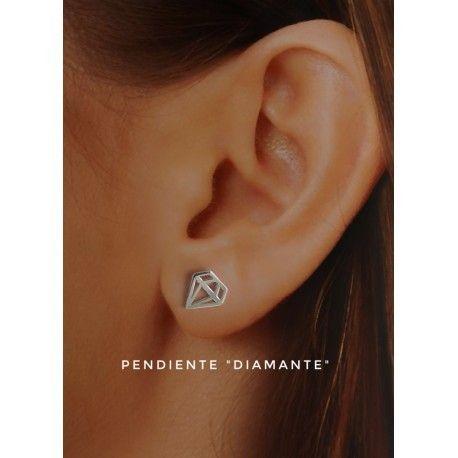 17647-Pendiente-diamante-presion Pendiente diamante presión