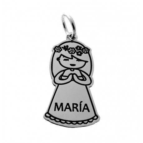 17666-Colgante-nina-comunion-personalizado Colgante niña comunión personalizado