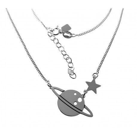 17668-Gargantilla-planeta-Saturno Gargantilla planeta Saturno