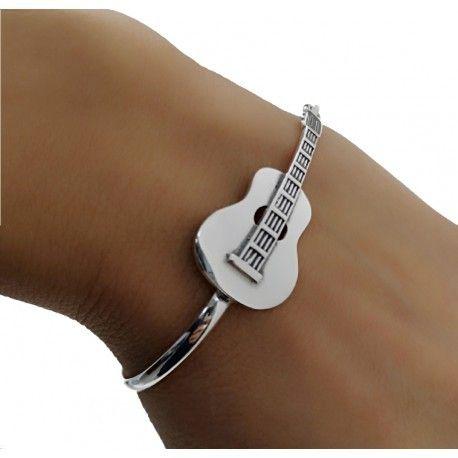 17705-Pulsera-rigida-guitarra Pulsera rigida guitarra