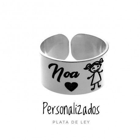 17730-Sortija-personalizada-ninoa-nombre Anillo personalizada niño/a nombre